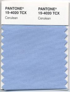 Pantone Cerulean Blu